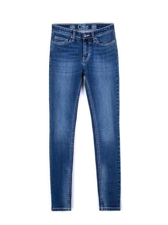 Spodnie jeansowe damskie CONTE ELEGANT 756/4909D, r.176-98, niebieski - 4