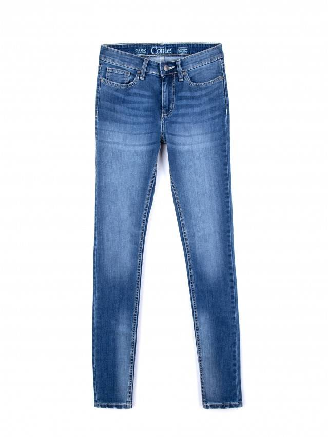 Spodnie jeansowe damskie CONTE ELEGANT 756/4909М, r.170-102, niebieski - 3