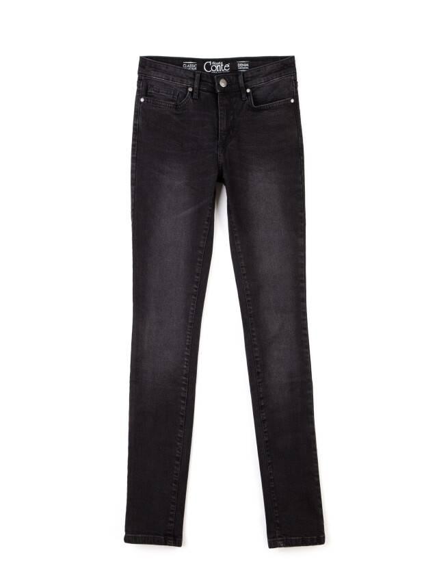 Spodnie jeansowe damskie CONTE ELEGANT 2992/4937 , r.170-102, ciemnoszary - 4