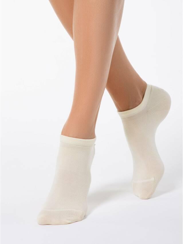 Skarpety damskie wiskozowe ACTIVE (ultrakrótkie, tencel) 15С-77СП, r.25, 079 kremowy - 1