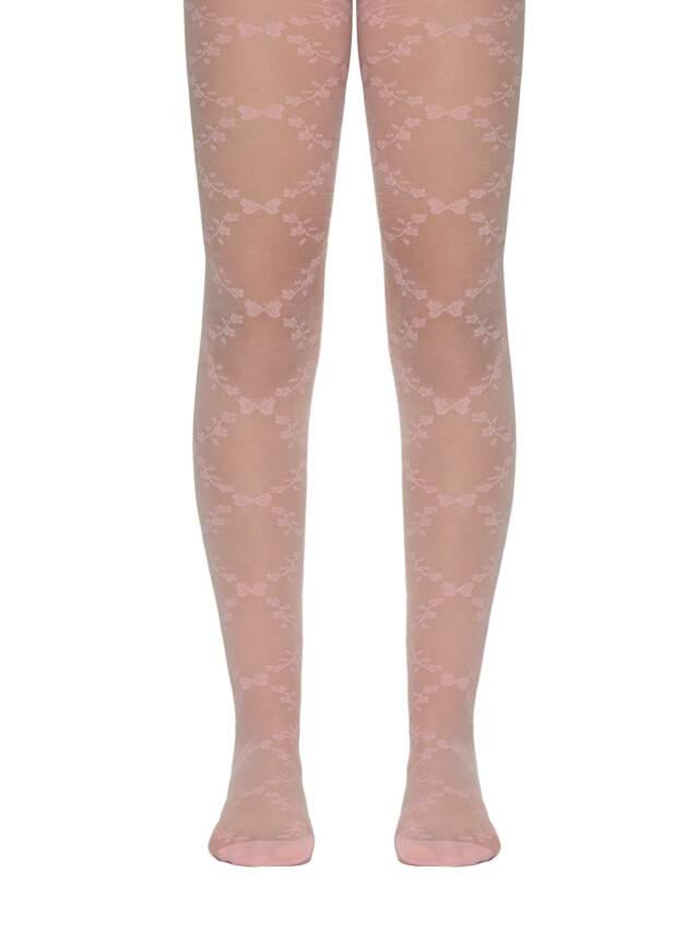 Rajstopy eleganckie dla dzieci DIANA, r. 104-110, pink - 1