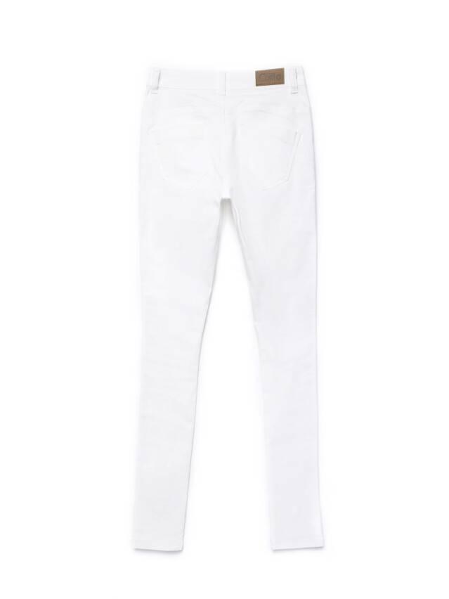 Spodnie denim CONTE ELEGANT CON-128, r.170-102, biały - 5