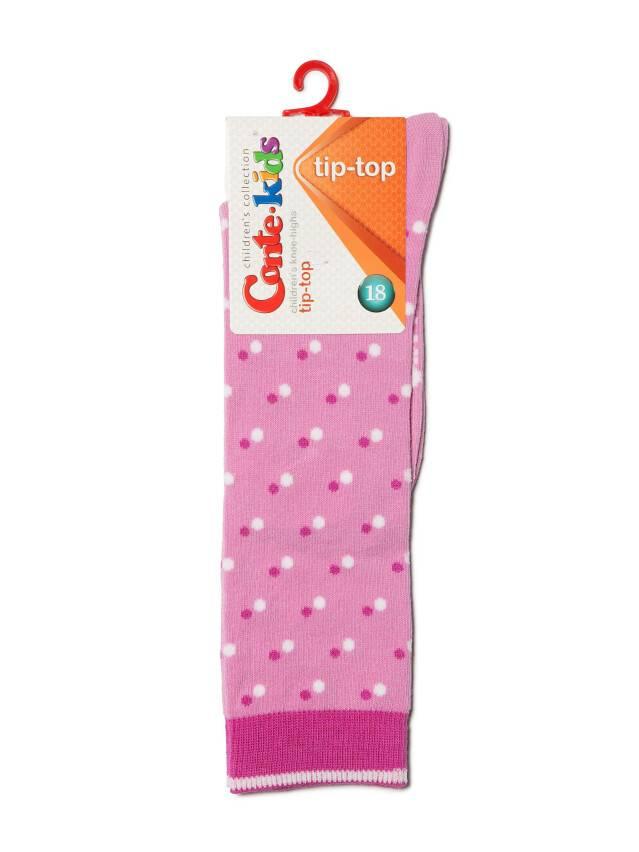 Podkolanówki dla dzieci TIP-TOP, r. 18, 037 мальва - 2