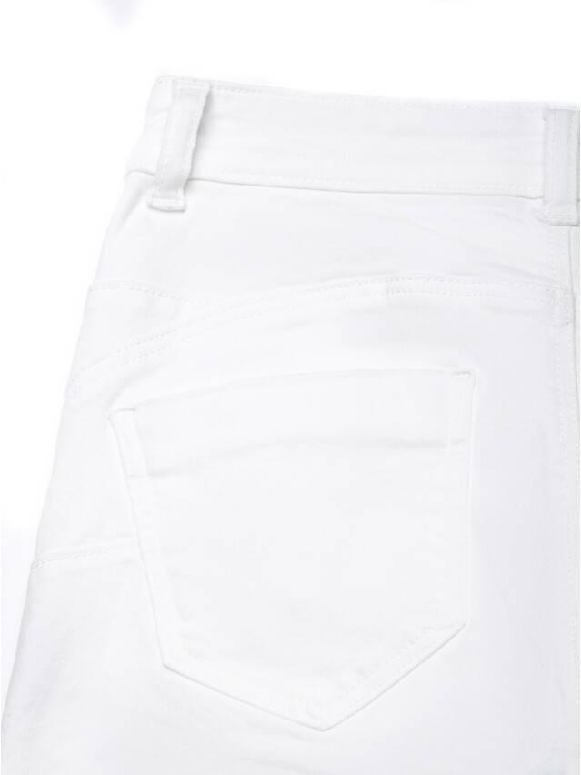 Spodnie denim CONTE ELEGANT CON-128, r.170-102, biały - 7