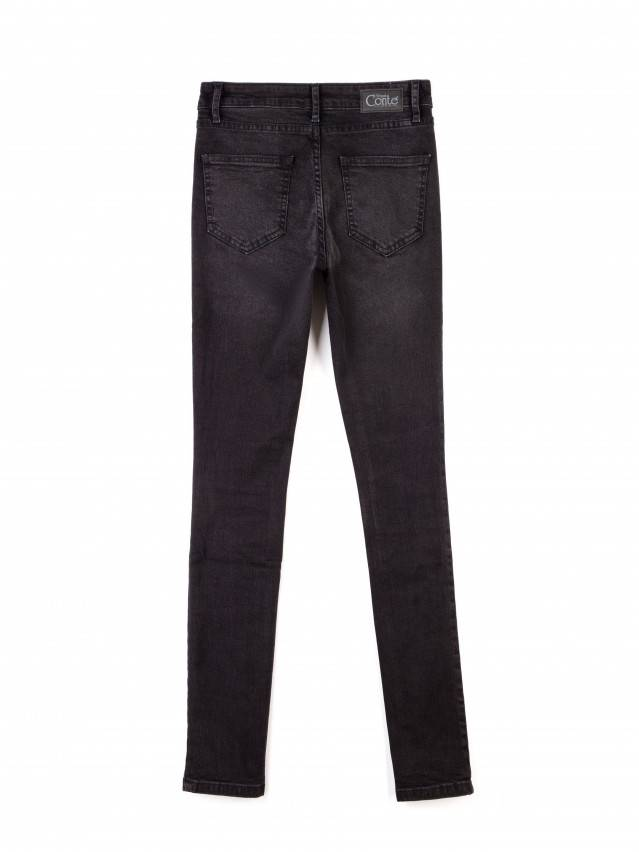 Spodnie jeansowe damskie CONTE ELEGANT 2992/4937 , r.170-102, ciemnoszary - 5