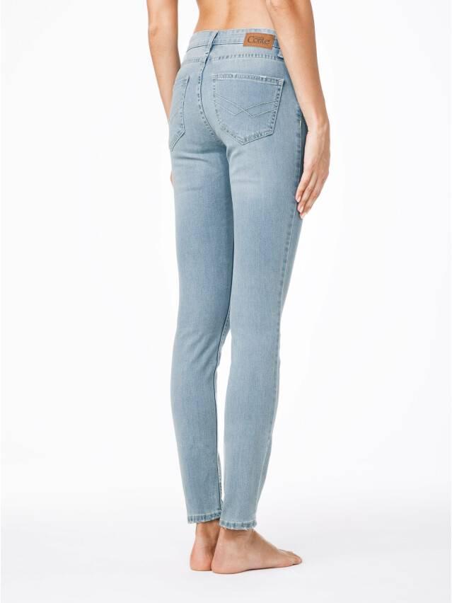 Spodnie jeansowe damskie CONTE ELEGANT 756/3465, r.170-102, błękitny - 2