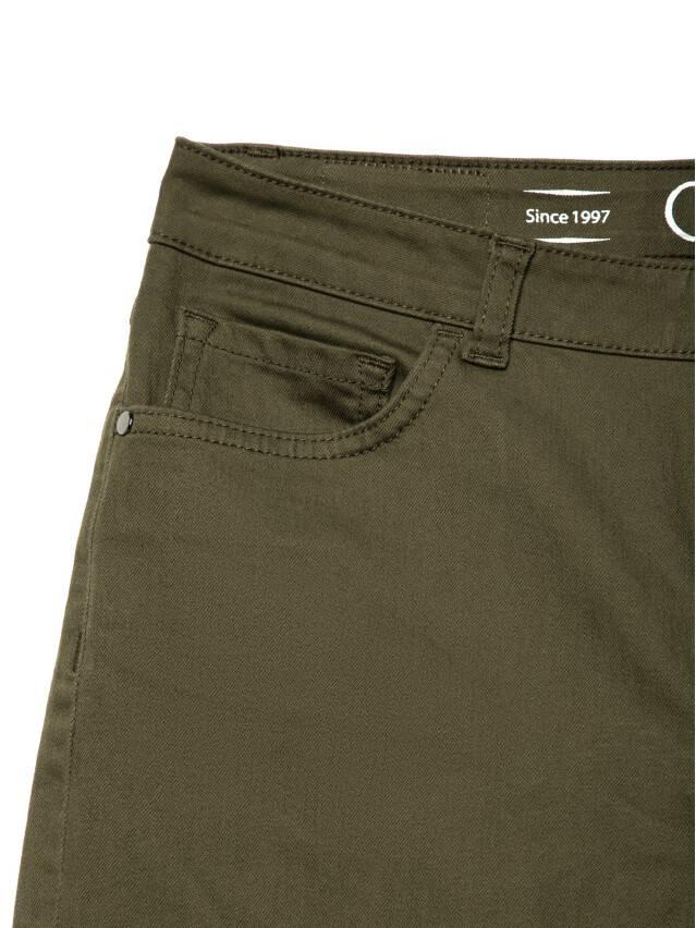 Spodnie denim CONTE ELEGANT CON-139A, r.170-94, khaki - 5