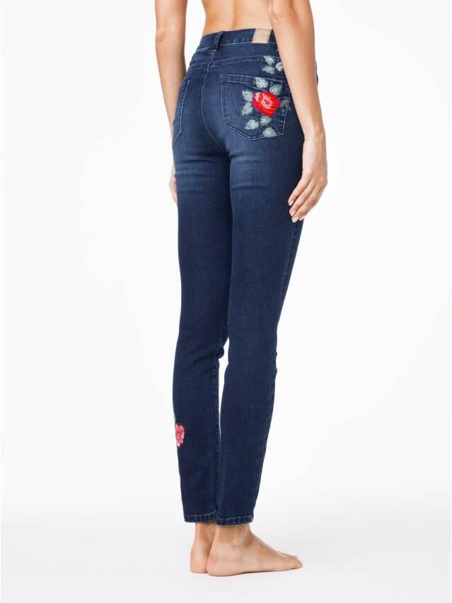 Spodnie denim CONTE ELEGANT CON-53, r.170-94, ciemnoniebieski - 3