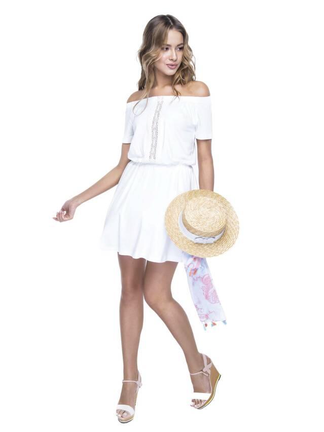Sukienka damska LPL 523, r. 158,164-100-106, mleczny - 2