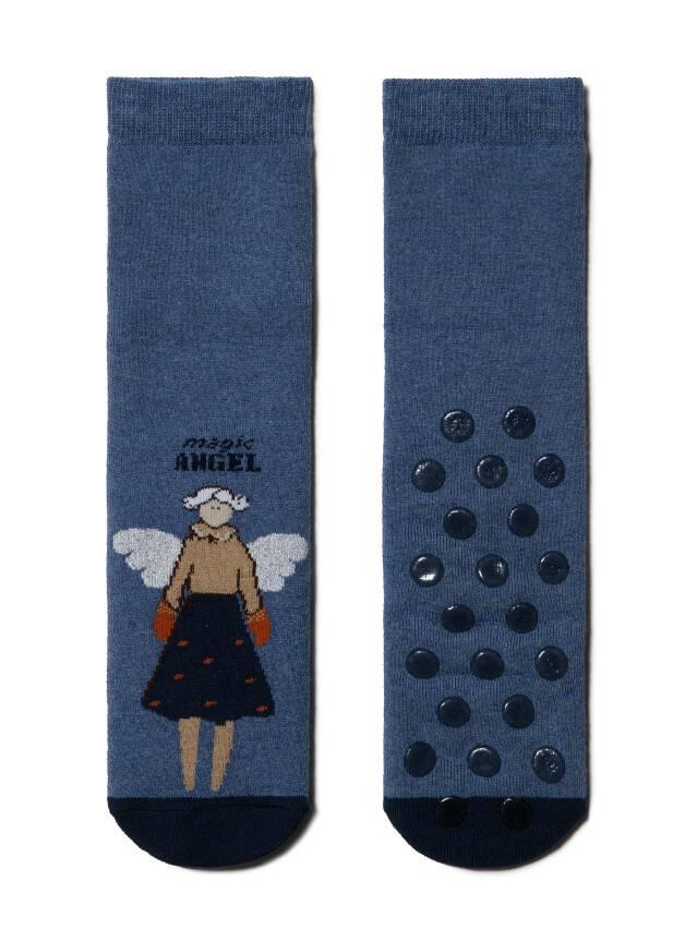 Skarpety damskie bawełniane HAPPY (frotte, antypoślizgowe),r.23, 291 jeans - 2