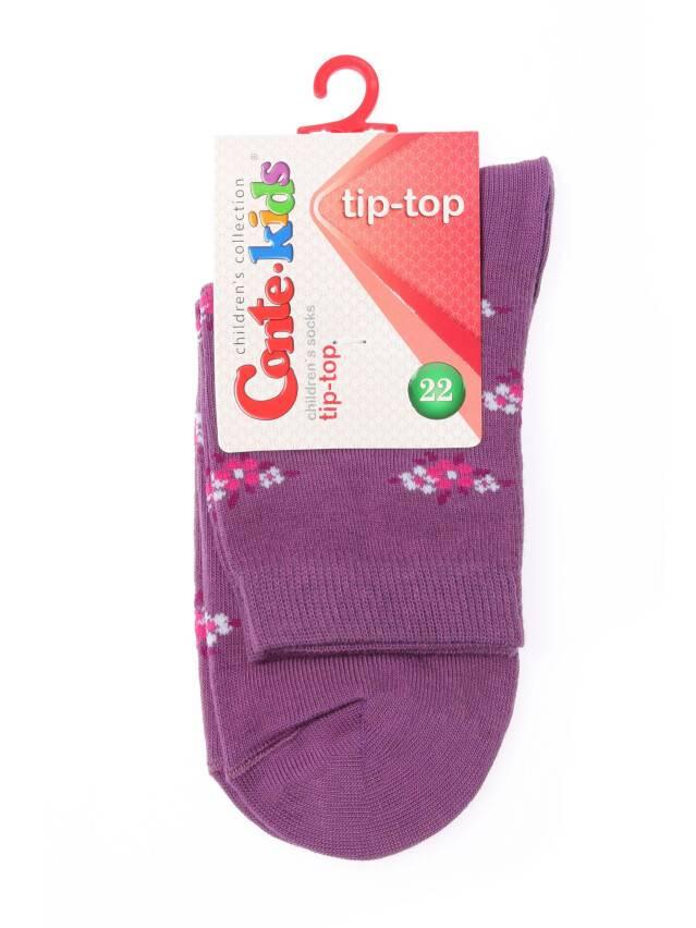 Skarpety dziecięce TIP-TOP, r. 22, 183 jasnoliliowy - 2