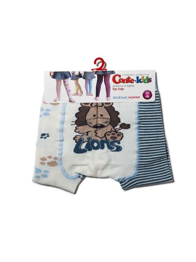 Rajstopy dziecięce TIP-TOP 14С-79СП, r.80-86 (14),356 mleczny-jeans - 3