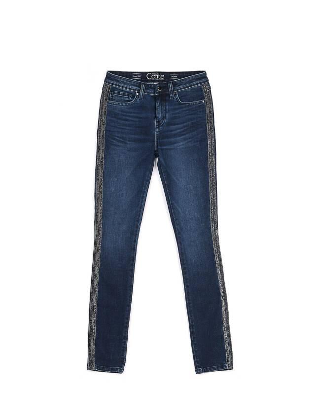 Spodnie jeansowe CONTE ELEGANT CON-99, r.170-90, ciemnoniebieski - 3