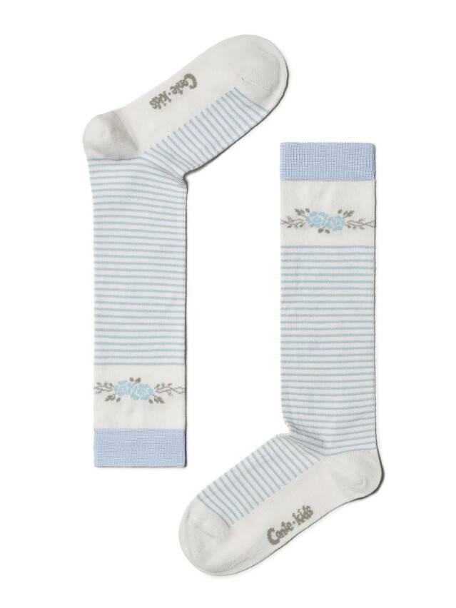 Podkolanówki dla dzieci TIP-TOP, r. 18, 038 молочный-jasnofioletowy - 1
