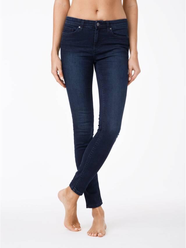 Spodnie jeansowe damskie CONTE ELEGANT 623-100D, r.170-102, ciemnoniebieski - 1