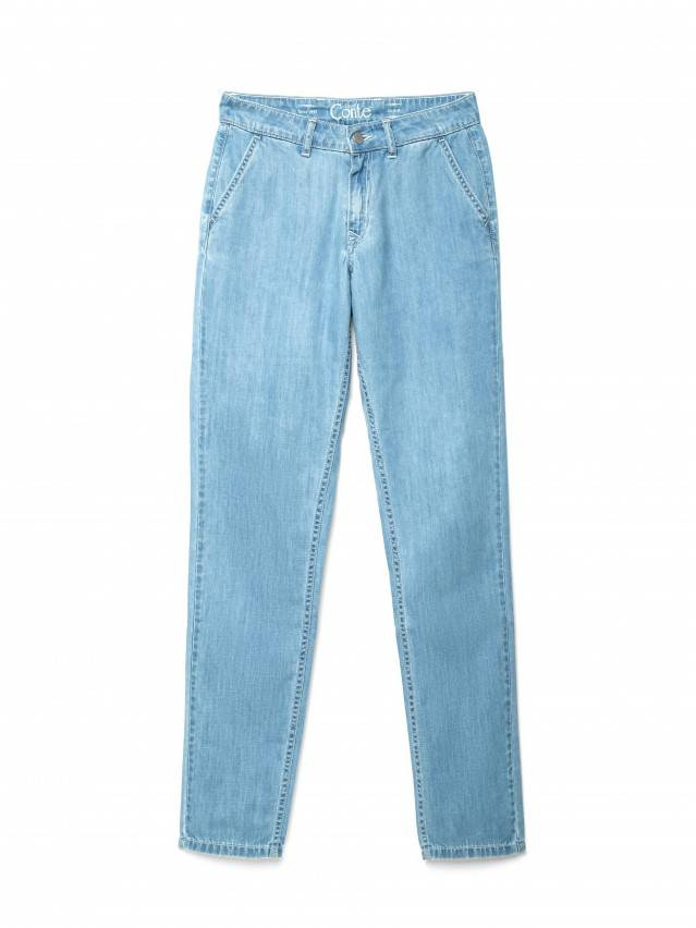 Spodnie denim CONTE ELEGANT CON-140, r.170-102, bleach blue - 4