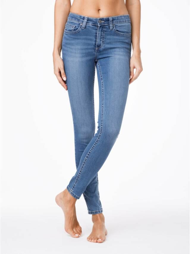 Jeansy modelujące Skinny w średnim kroju 4640/4915L 1