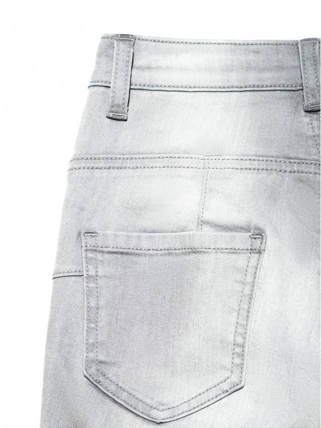 Spodnie denim CONTE ELEGANT CON-127, r.170-102, jasnoszare - 6