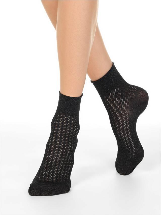 Носки женские вискозные AJOUR 19С-186СП, р.38-39, 180 черный - 1