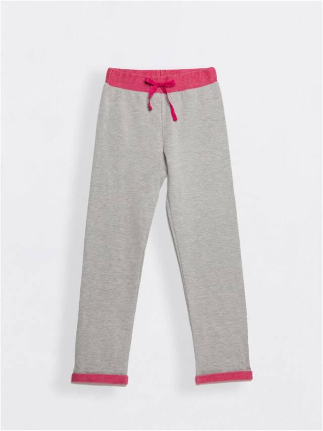 Spodnie dla dziewczynek CONTE ELEGANT JOGGY, r.110,116-56, grey-pink - 1