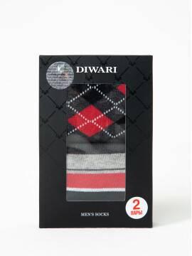 Kupić skarpety skarpetki bawełniane DIWARI w markowym pudełku (2 pary) w sklepie internetowym Conte